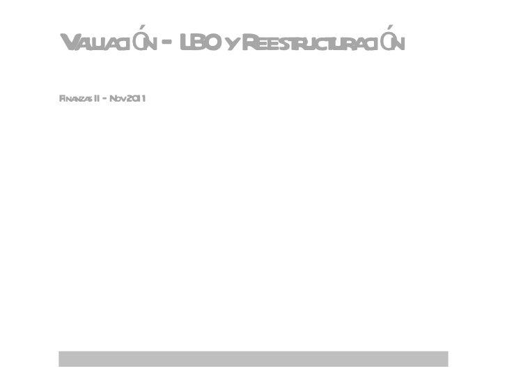 08 11-2010 lbo y reestructuración