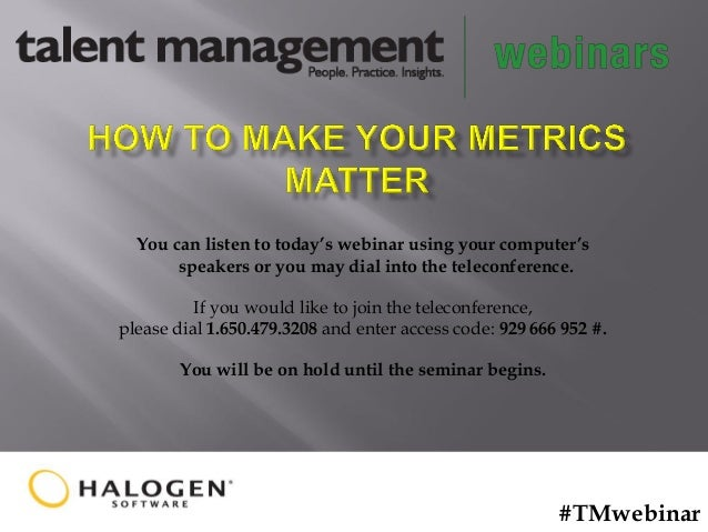 How to Make Your Metrics Matter