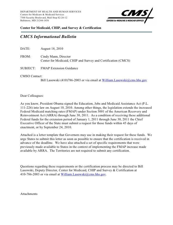 08 18-10-cmcs-informational-bulletin-fmap-extension-guidance