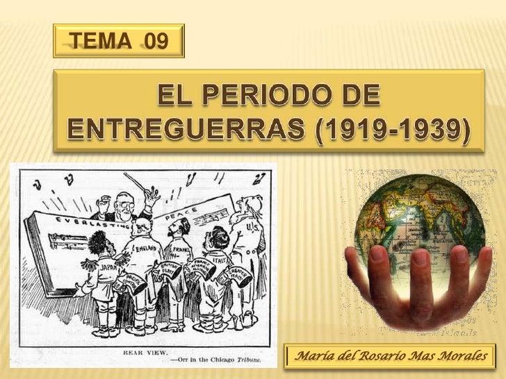 08. el periodo de entreguerras (1919 1939)