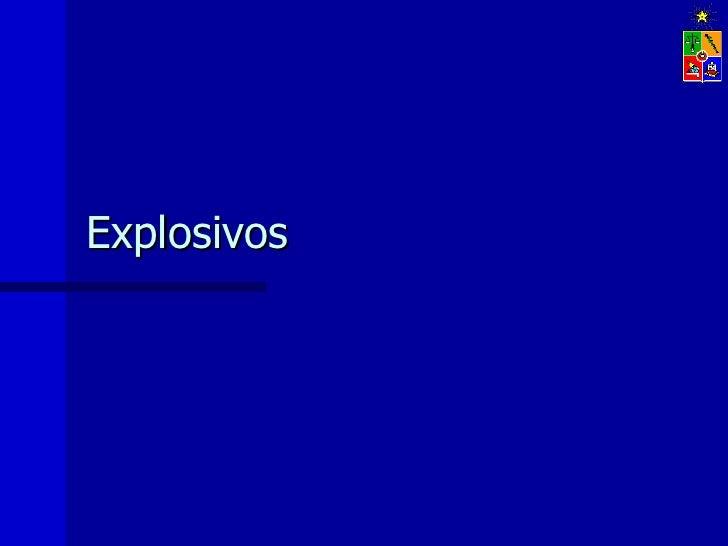 08 explosivos