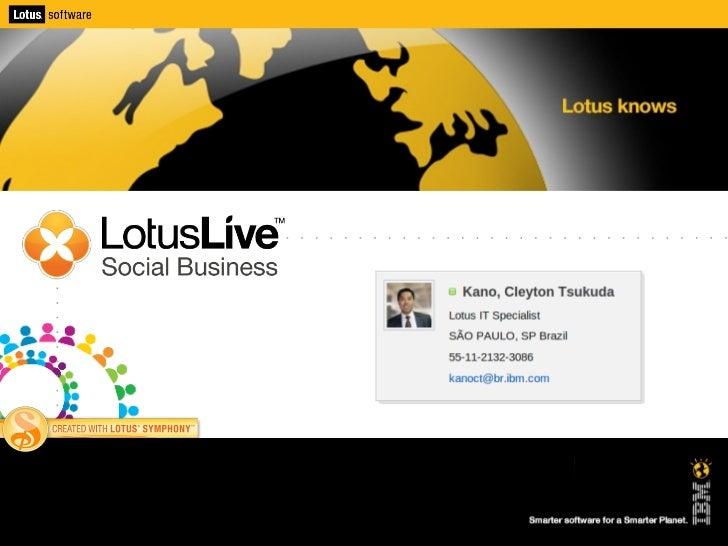 LotusLive - Social Business