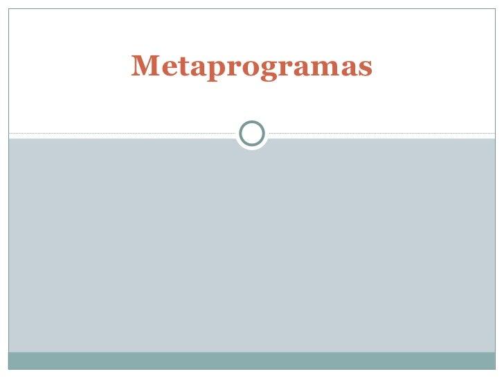 08 - Metaprogramas