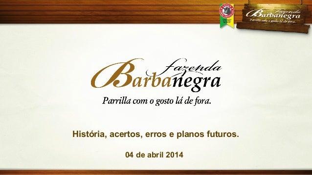 [Palestra] Roberto Majó: Fazenda Barbanegra: história, acertos, erros e planos futuros.