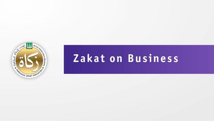 Zakat on Business