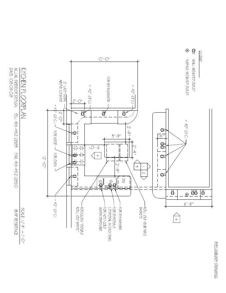 Kitchen Floorplans