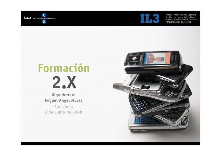 [   1   ]                Audi - Formación 2.0     Formación             2.X        Olga Herrero     Miguel Angel Muras    ...