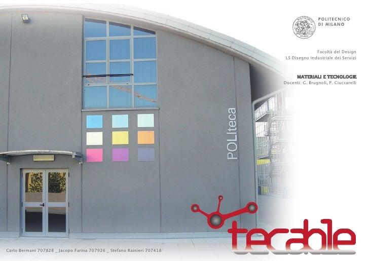Facoltà del Design                                                                         LS Disegno Industriale dei Serv...