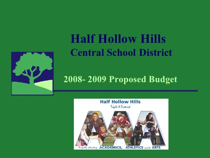 08 09 Budget Presentation