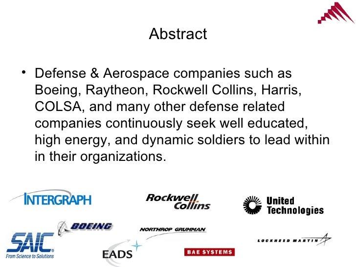 Defense acquisition system dissertation