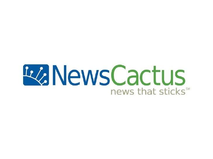 Introducing NewsCactus