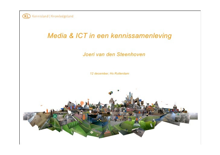 Media en ICT in kennissamenleving