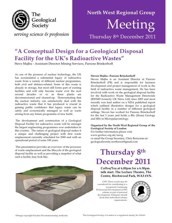 North West Regional Group                                                                                     Meeting     ...