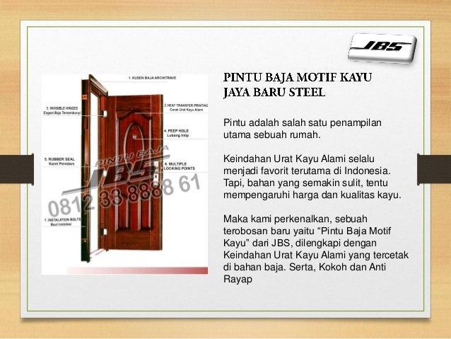 0812 33 8888 61 jbs pintu besi ruko minimalis pintu for Minimal art slideshare