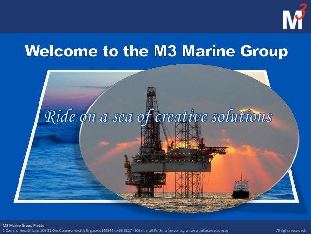 M3 Marine Group Marketing Presentation