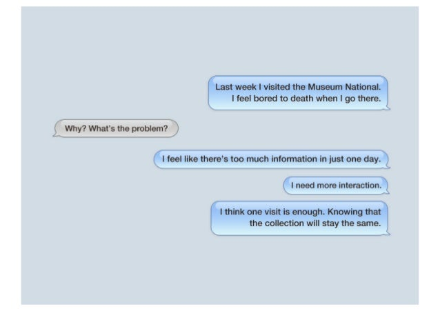 Let's Chat The Museum