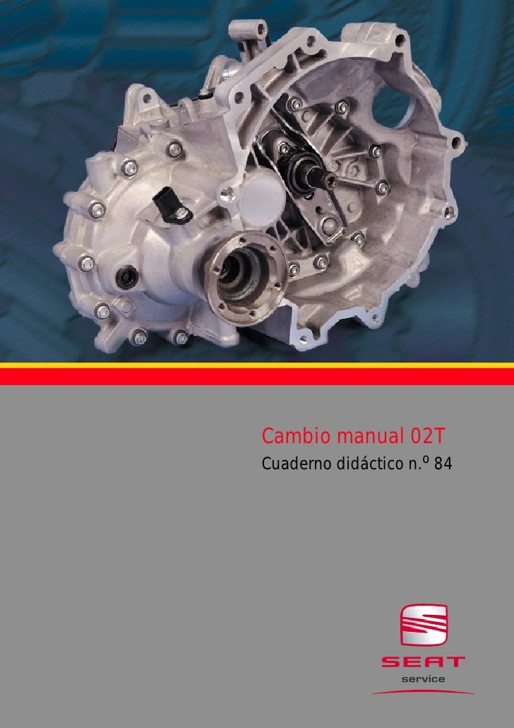 Cambio manual 02TCuaderno didáctico n.o 84