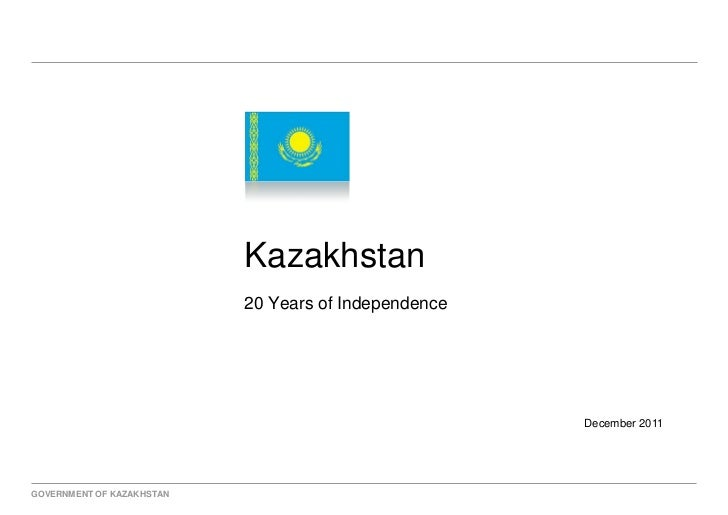 Kazakhstan                           20 Years of Independence                                                      Decembe...