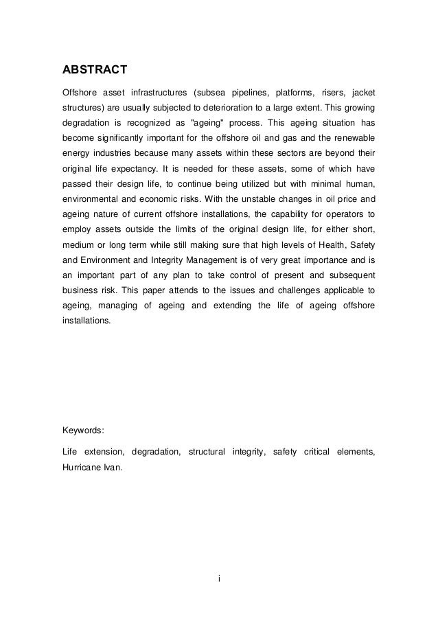 Environmental geology m.sc thesis and papers
