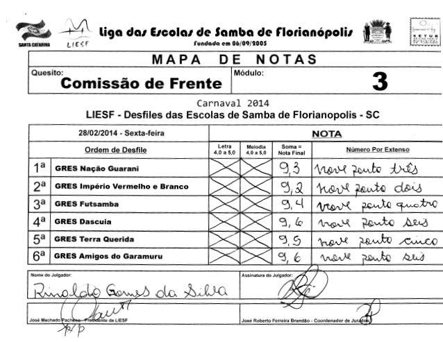 """-  ;~  li9a da1 E1cola1 de Samba de r1orian6poli1  Lf r ~ f  SANTA CATARINA  SETUR SECH£ f""""AH!A MUNICIPAL  rundada em 06/0..."""