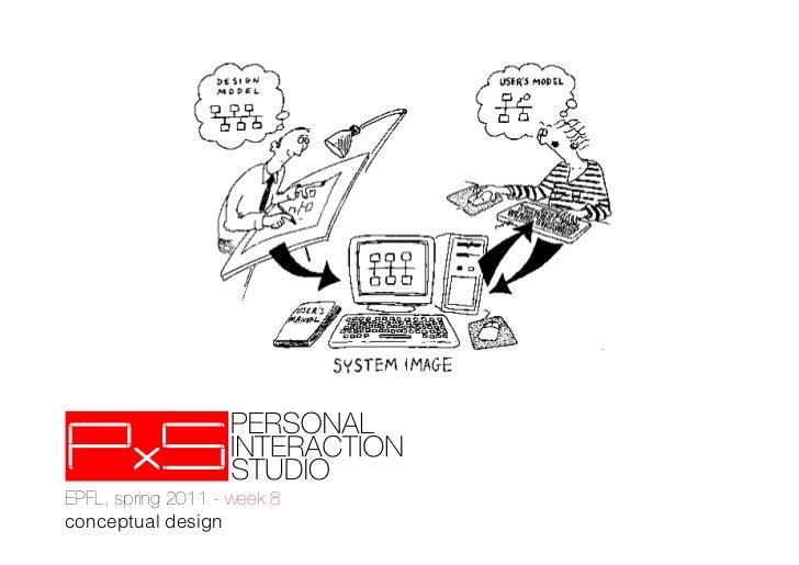 EPFL - PxS, week 8 - conceptual design