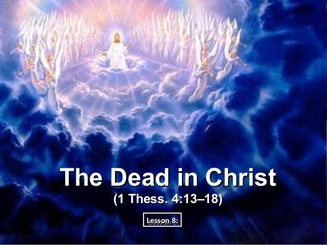 08 dead in christ