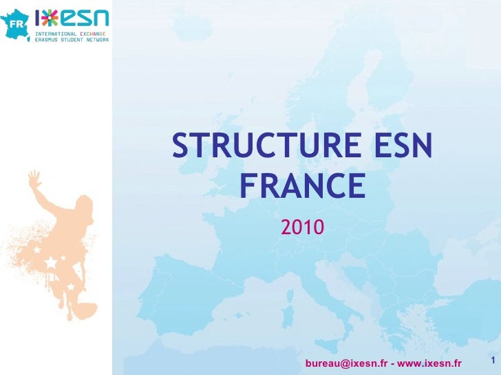STRUCTURE ESN FRANCE 2010