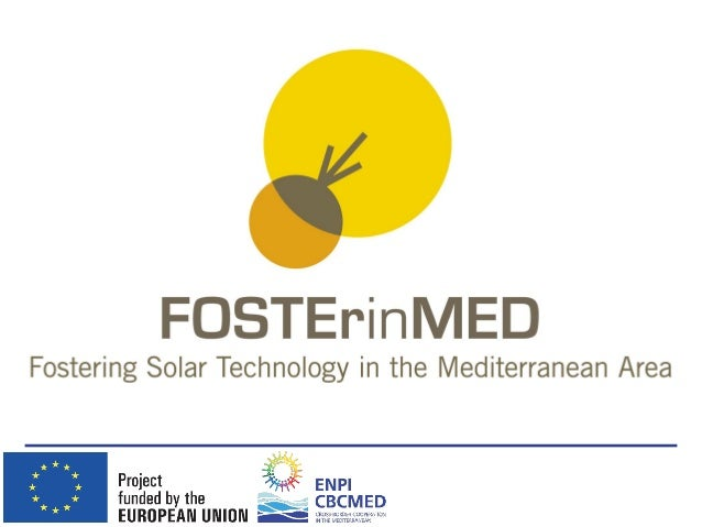 FOSTEr in MED partner Industrial Research Institute