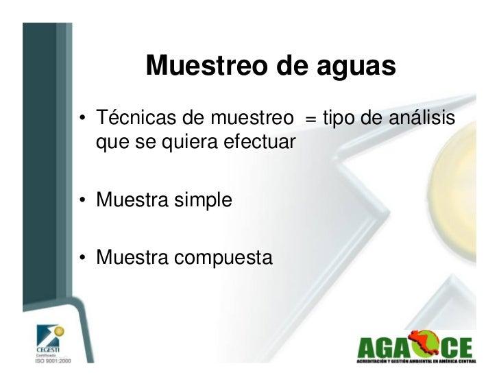 Manual para el  Muestreo De Aguas Residuales