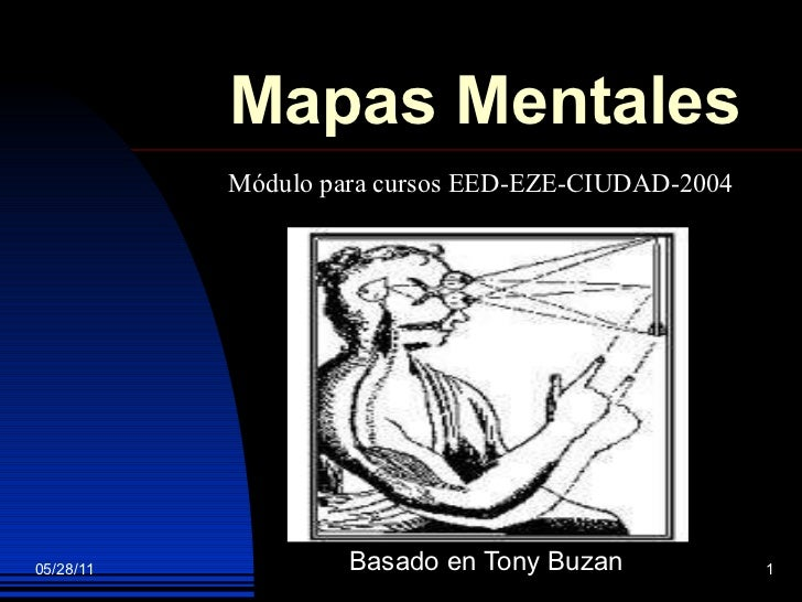 Mapas Mentales Basado en Tony Buzan Módulo para cursos EED-EZE-CIUDAD-2004