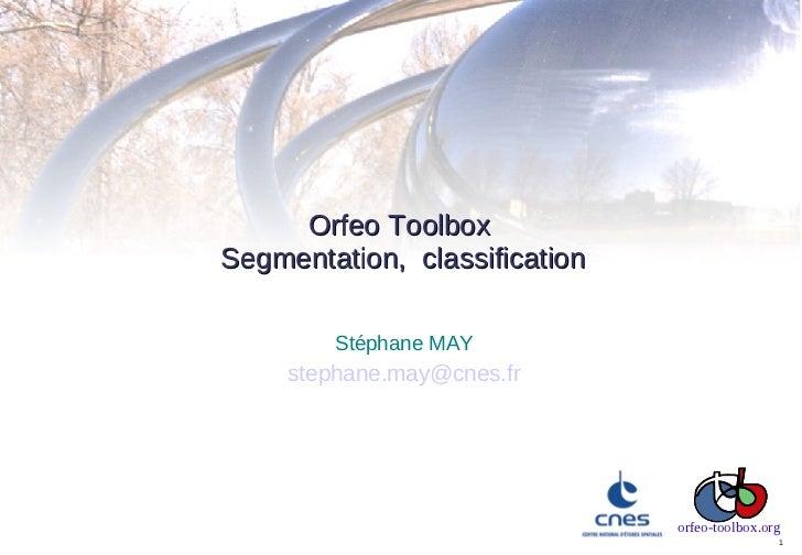Madagascar2011 - 08 - OTB segmentation and classification