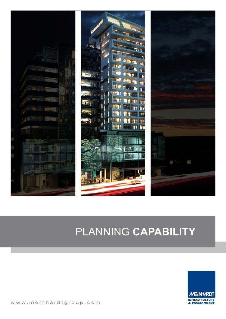 08. Planning Capability Statement