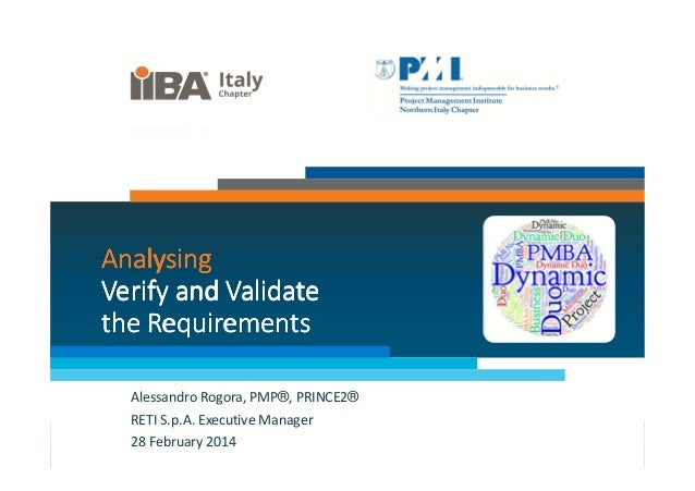 08 pm&ba dynamic duo_verify validate requirements_alessandro rogora