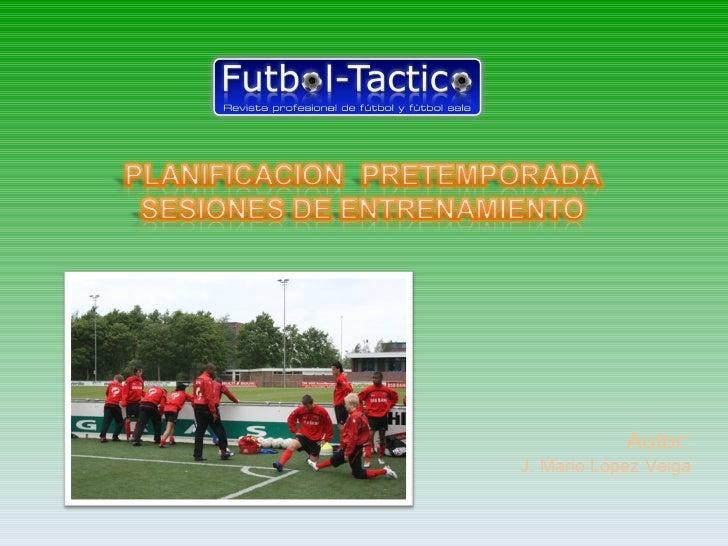 Pretemporada Fútbol
