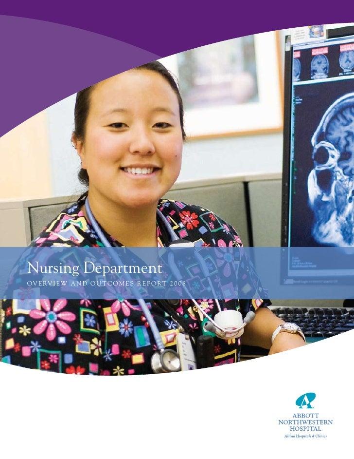Nursing Outcomes/Annual Report