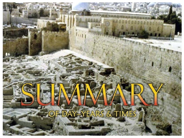 SummaryofPropheticDays&Times                                                  Dome of the Rock                       ...