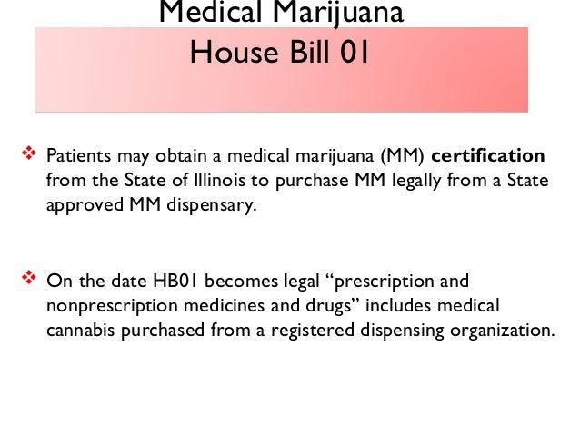Presentation on Medical Marijuana - September 5, 2013