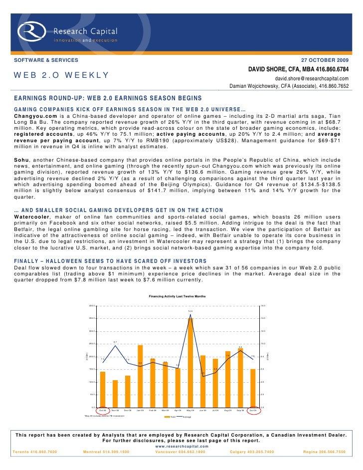09 10 27 Web 2.0 Weekly