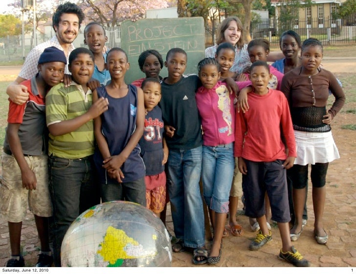 Project Einstein South Africa Introduction