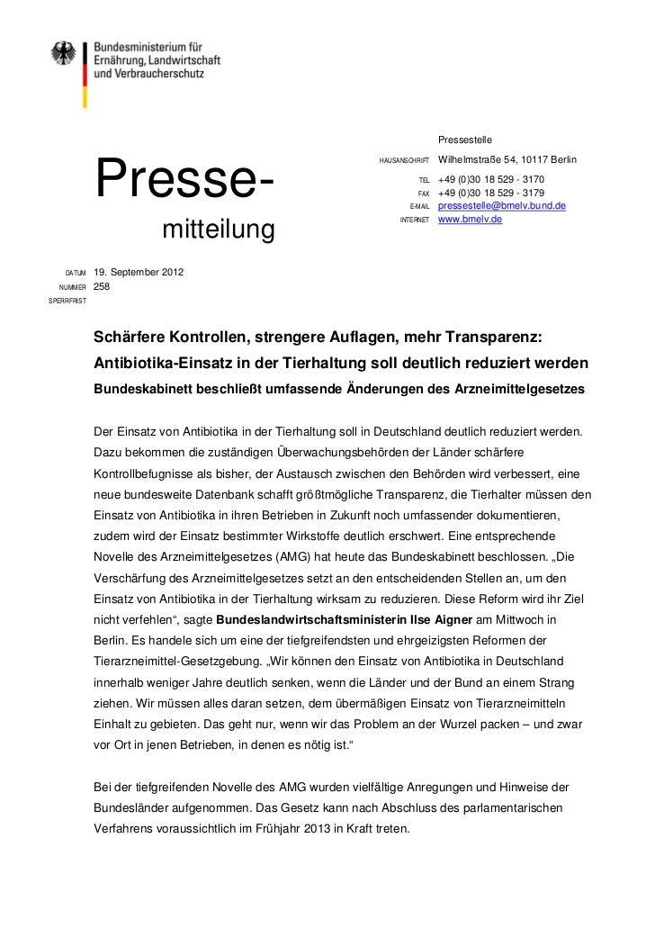 Pressestelle                                                                   HAUSANSCHRIFT     Wilhelmstraße 54, 10117 B...
