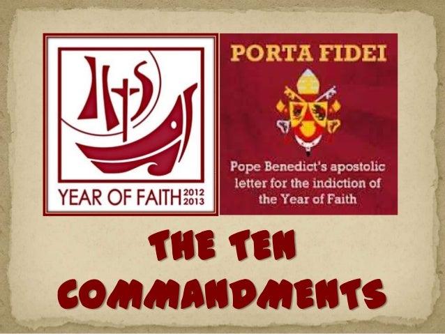 09   aug 2013  ten commandments