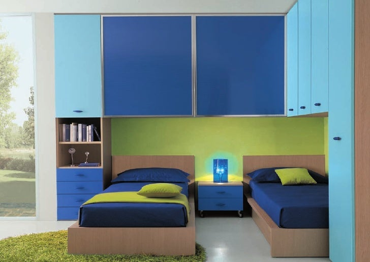 Camerette bambini 2 letti misure idee per il design for Design della casa con due camere da letto