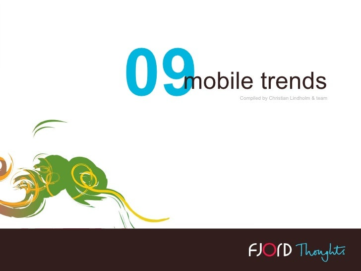Fjord Mobile Trends for '09