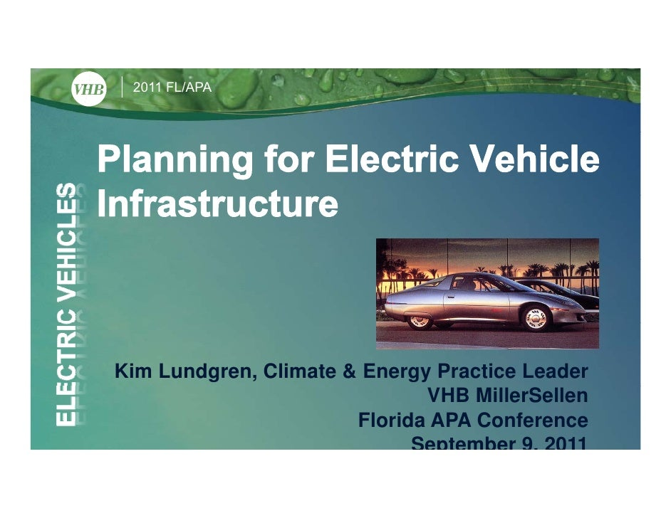 9/9 FRI 2:45 | Planning for Electric Vehicle Infrastructure 2
