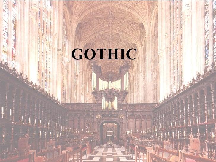 FCSarch 09 Gothic