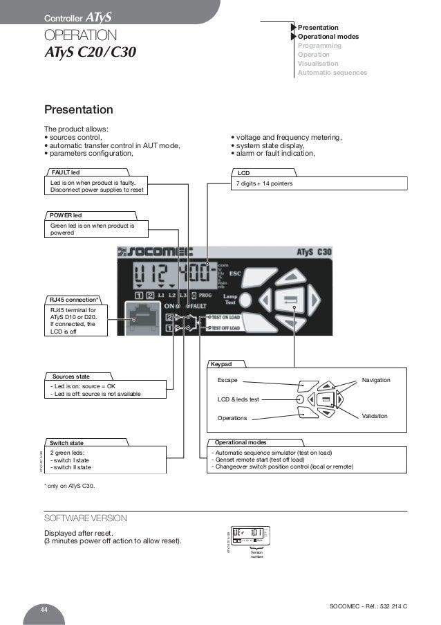 Atys C30 инструкция - фото 2