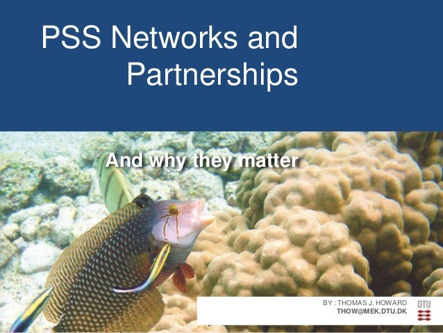 PSS Networks and Partnerships