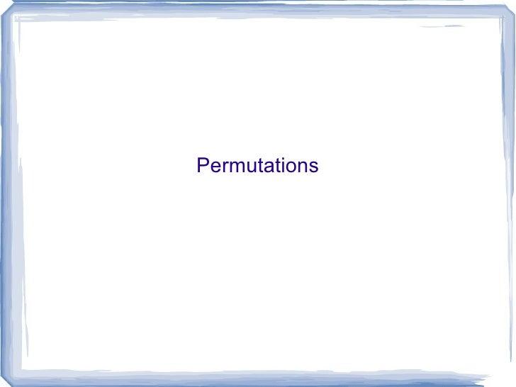 09   permutations