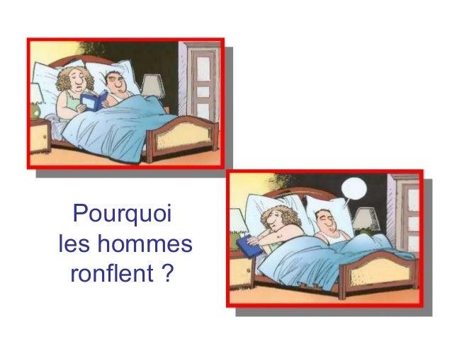 Diaporama PPS réalisé pour http://www.diaporamas-a-la-con.com Pourquoi les hommes ronflent ?