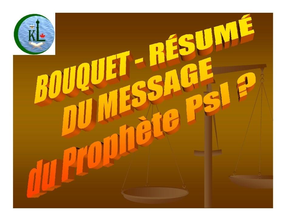 Le Prophète Mohammed (SAWS)